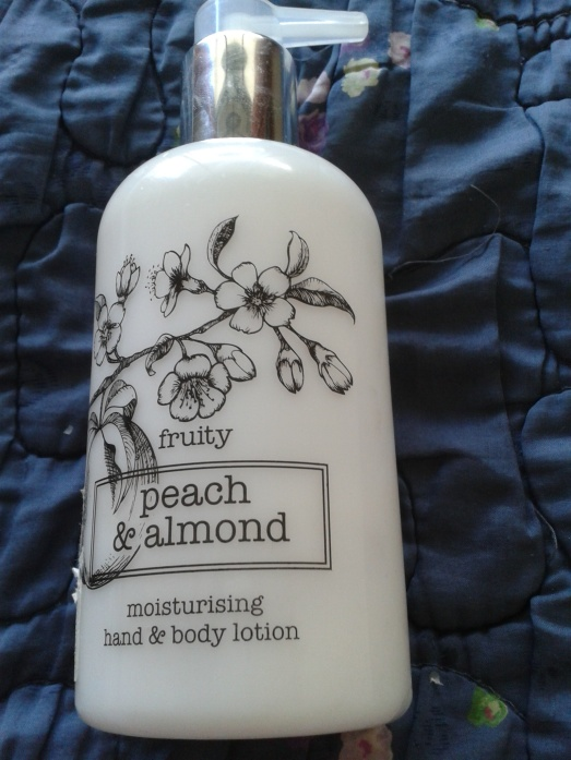 Marks and Spencer Fruity Peach and Almond Hand and Body Lotion 1