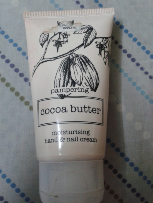 M&S cocoa butter moisturising hand and nail cream 2
