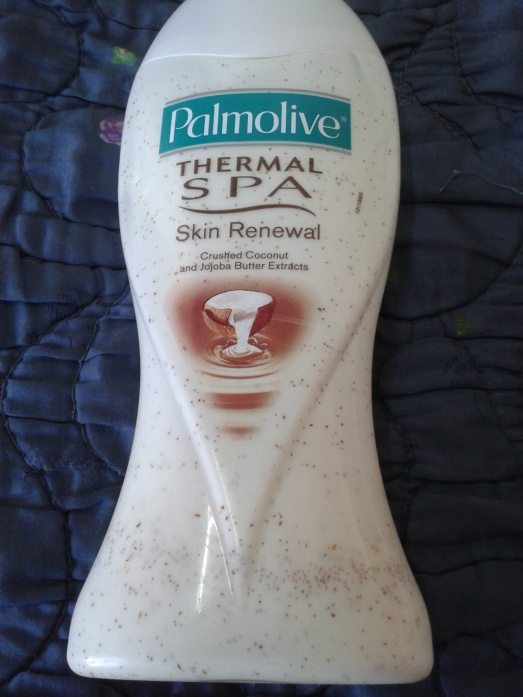 Palmolive thermal spa crushed coconut and jojoba butter extract body wash