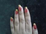 Easy-At-Home-Royal-Red Nail-Art