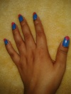 Easy at Home Nail Art 3- The Chevron is 'On'