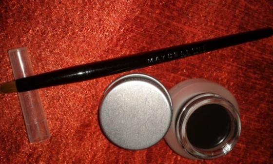 aybelline Eye Studio Lasting Drama Gel Eye Liner (Shade - Blackest Black)