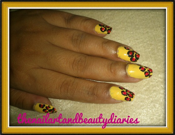 Print Nail Art with an Oomph