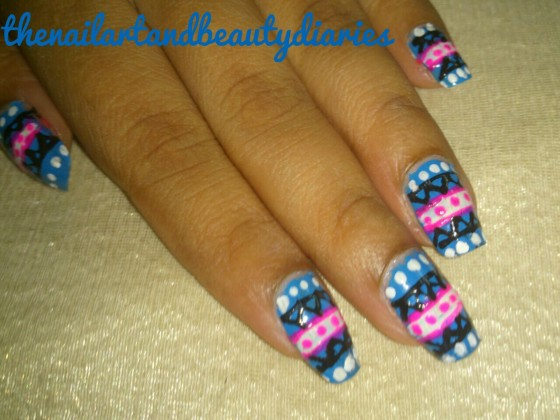The Tribal Nail Art