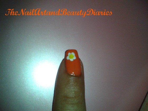 How to Draw Flower For Nail Art