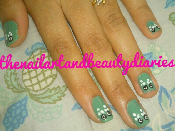 The Not So Angry Owl Looks Nail Art