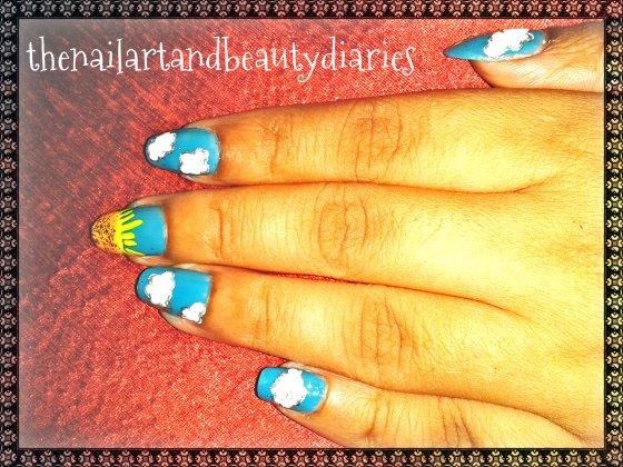 the bright sunny day naila art