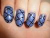 Easy At Home Nail Art 19 – Striping Tape Nail Art forBeginners