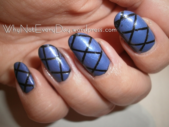 Striping Tape Nail Art for Beginners
