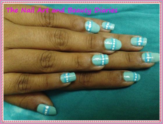 The Caribbbean Island Nail Art