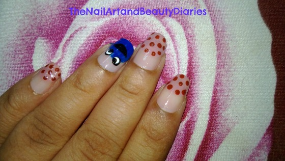 The Cookie Monster Nail Art