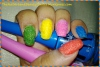 Easy at Home Nail Art 27 : DIY Summer Textured Nails with Salt