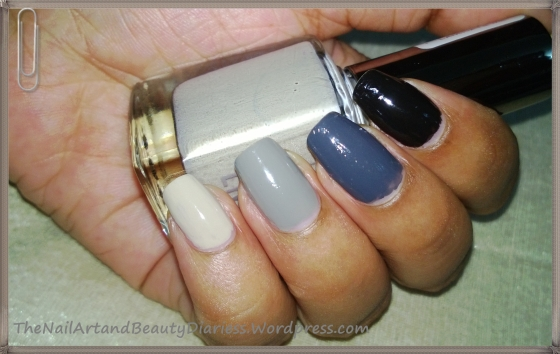 Shades Of Grey Nail Art 2