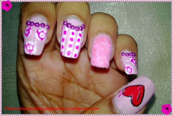 The Myself Nail Art