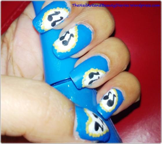 I love Music Nail Art