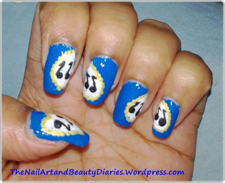 I love Music Nail Art