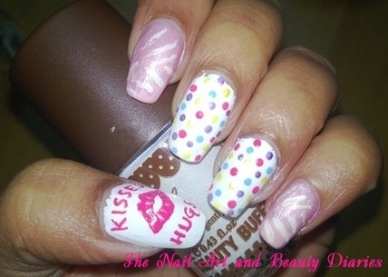 Skittlette Nail Art