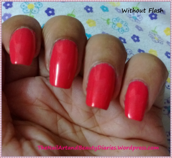 Tip Top- Creamy Orange Nail Paint Review
