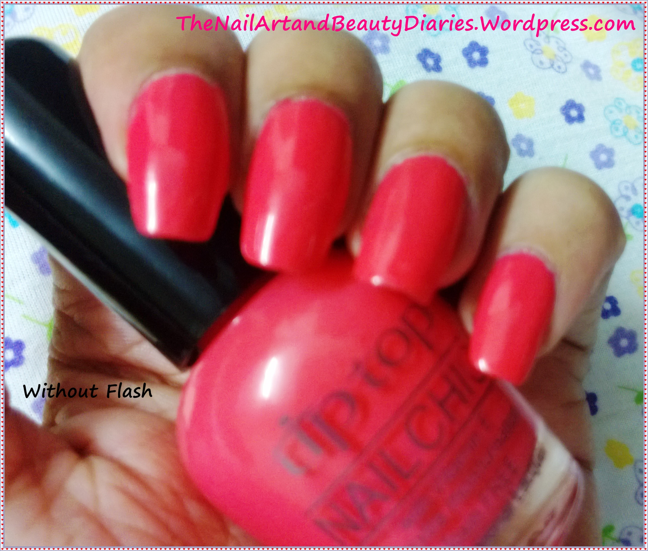 The Nail Art And Beauty Diaries: Tip Top Creamy Orange Nail Polish Review
