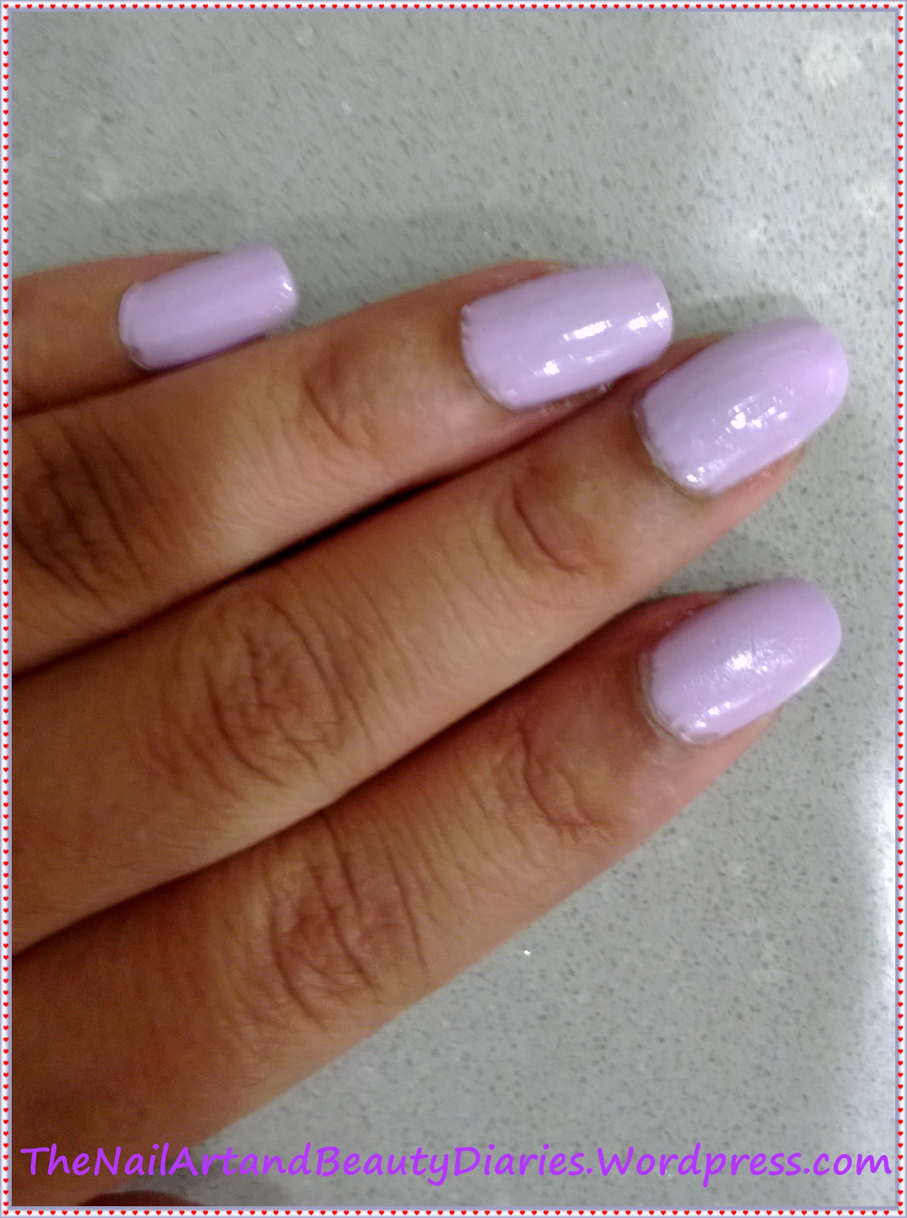 Tip Top Fairy Dust Nail Polish Review   The Nail Art and Beauty Diaries