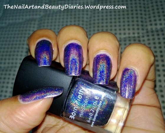 My First Holo Nail Paint from BornPretty