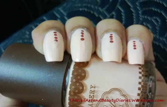 Delicate Matte Nail Art