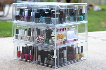 How to Store your Nail Paints 1