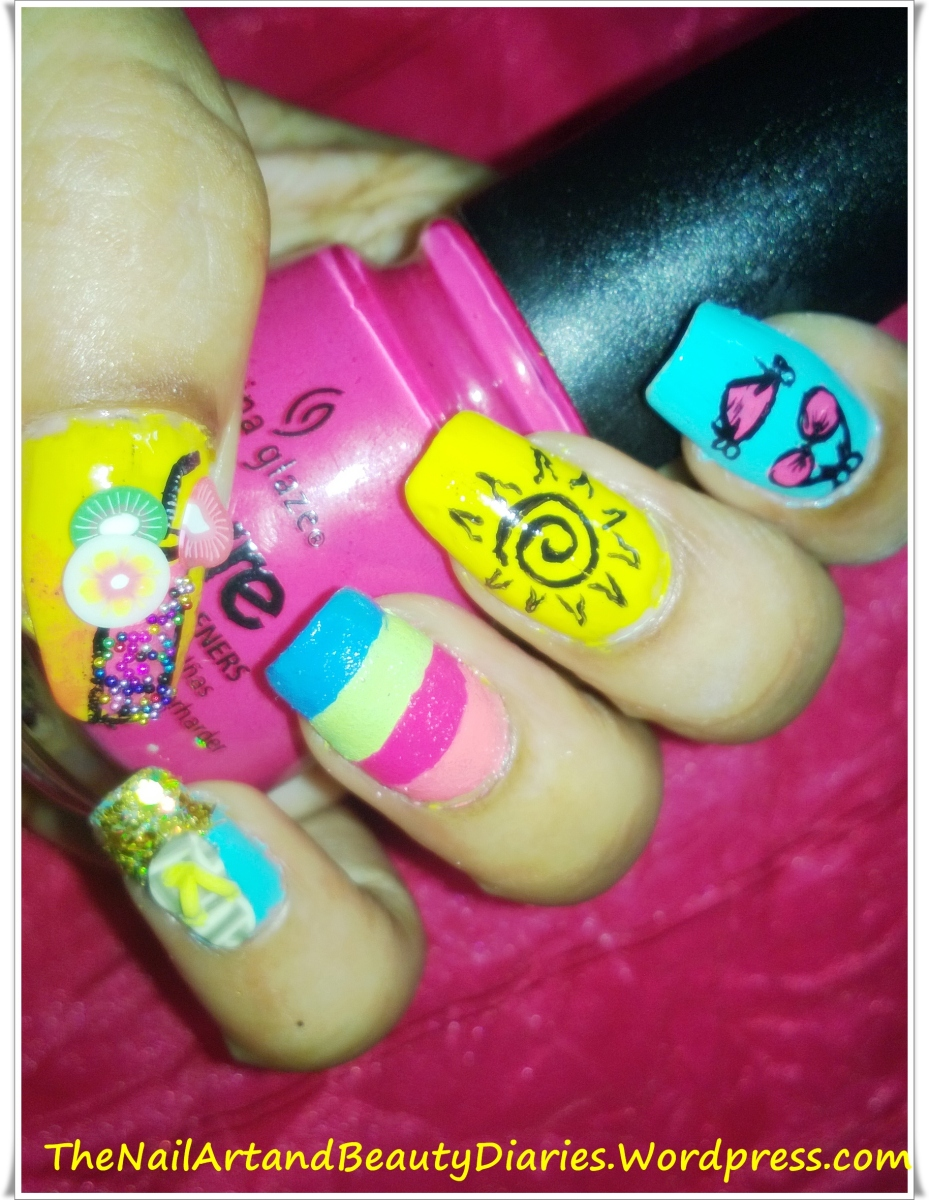 My Summer Nail Art