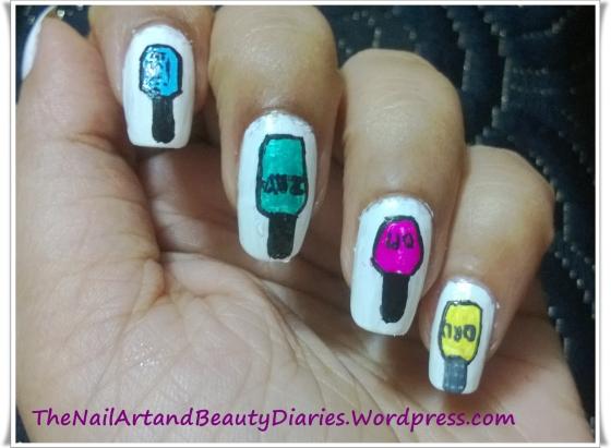When Nails Met Polish Nail Art