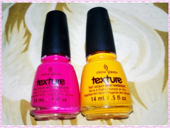 China Glaze Texttured Nail Polish Set