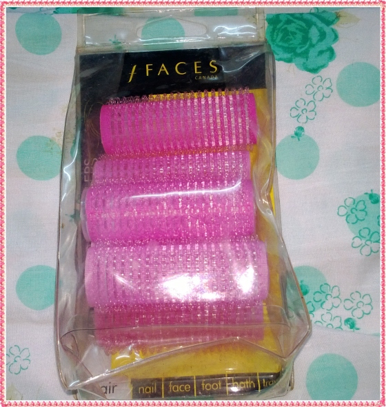 Faces self curl rollers pack