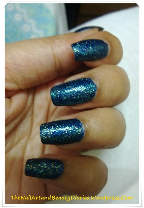 Starry Night on my Nails
