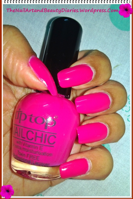 Tip Top  Pot-O-Cherry Nail Polish Review