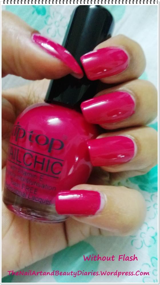 Tip Top  Pot-O-Cherry Nail Polish Review