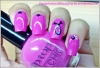 Breast Cancer Awareness Nail Art