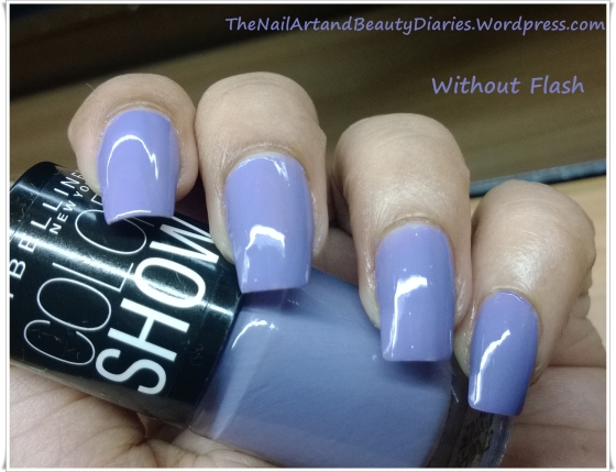 Maybelline ColorShow Lavender Lies Review