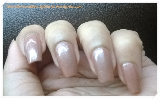 Maybelline ColorShow Silk Stocking Nail Polish Review