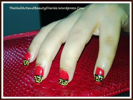 My Mind In China Nail Art