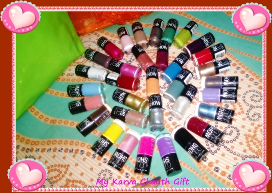 The Entire Range of Maybelline Color Show Nail Polish