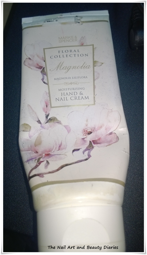 Marks & Spencer Magnolia Hand Nail Cream