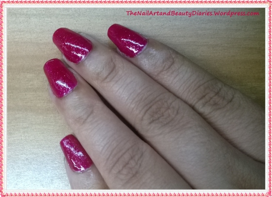 Maybelline Color show Velvet Wine Nail Polish Review