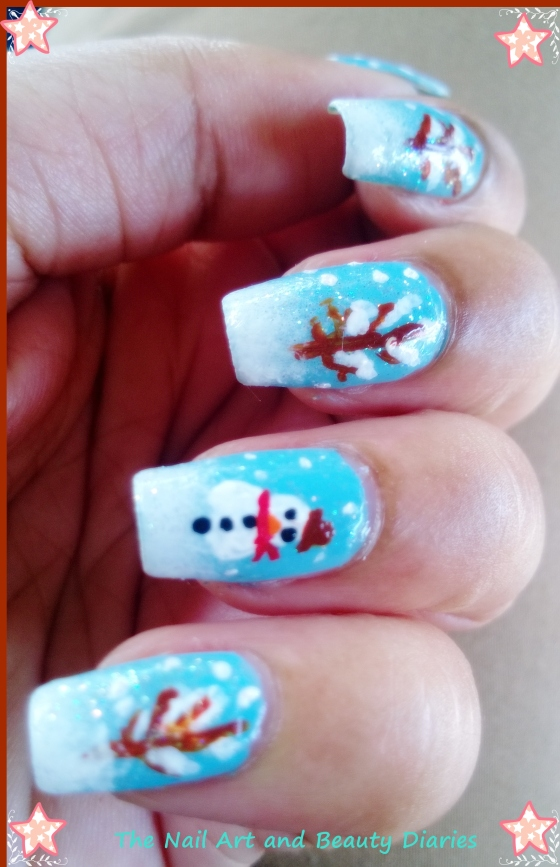 Welcome Winter Nail Art