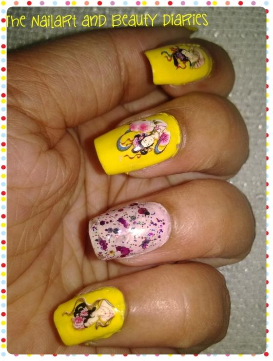 Geisha Nail Art