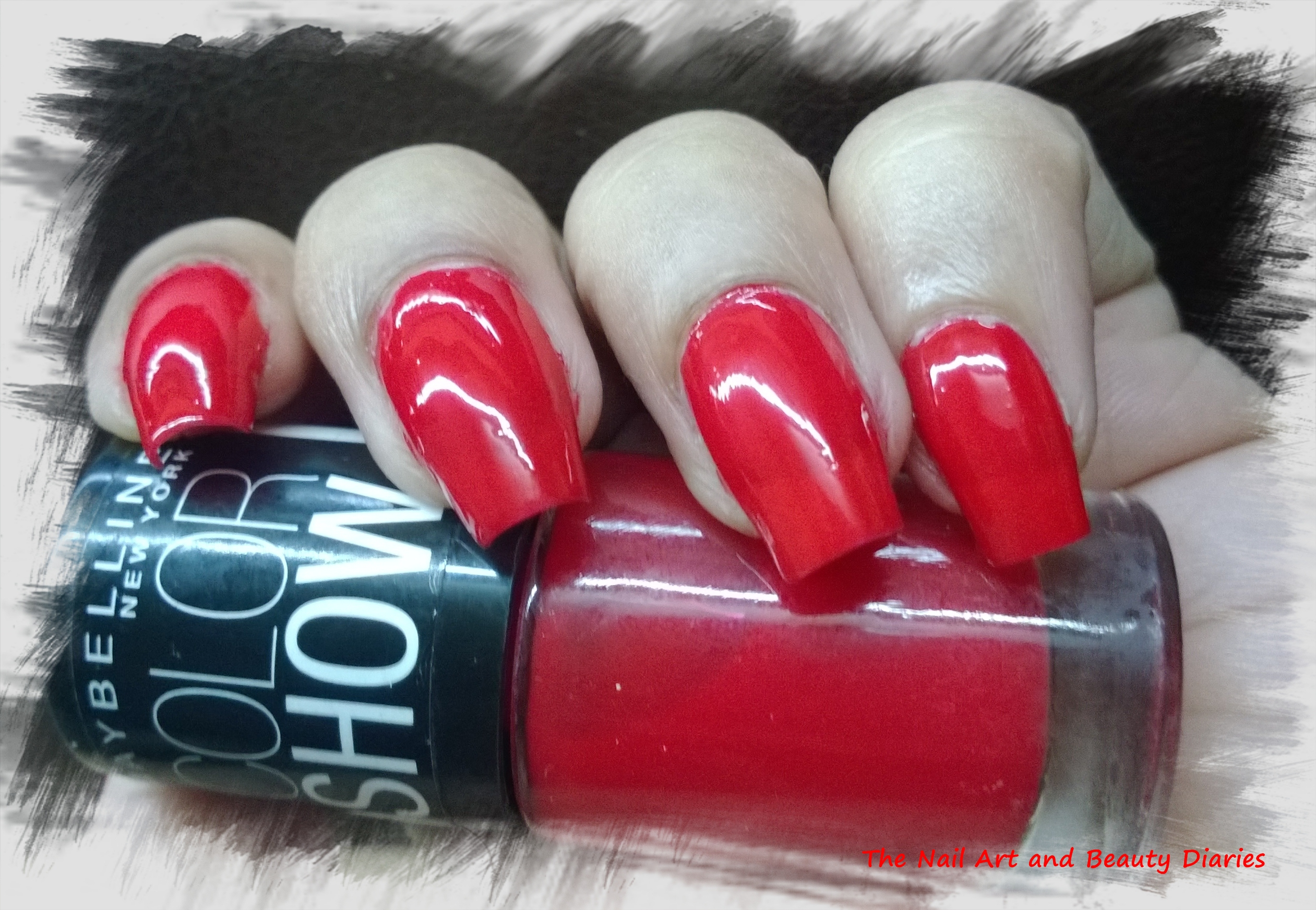 Maybelline Color Show Keep up the flame Nail Polish Review | The ...