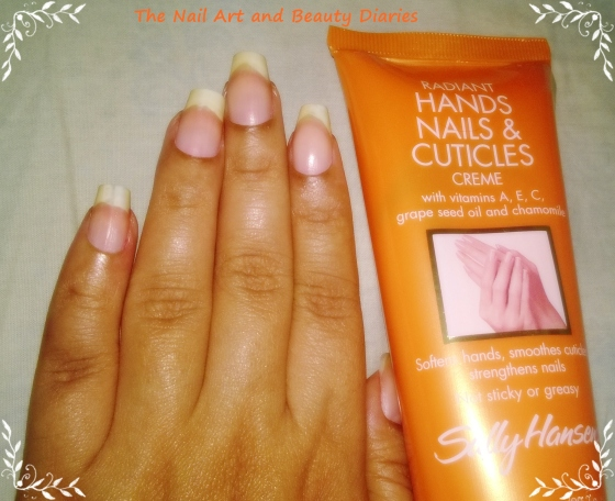 Sally Hansen Radiant Hands Nail & Cuticle Creme