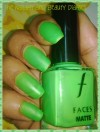 Faces Matte Nail Polish 'Greed' Shade 73 Review