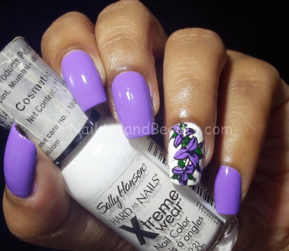 DIY Stamping Decal Nail Art and Tutorial