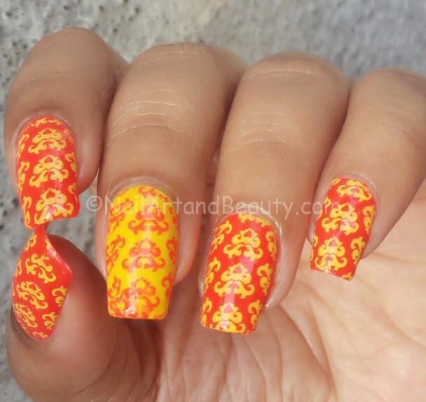 Traditional Wedding Anniversary Nails