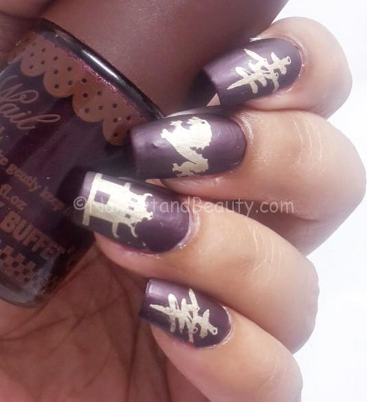 Travel to China Nail Art