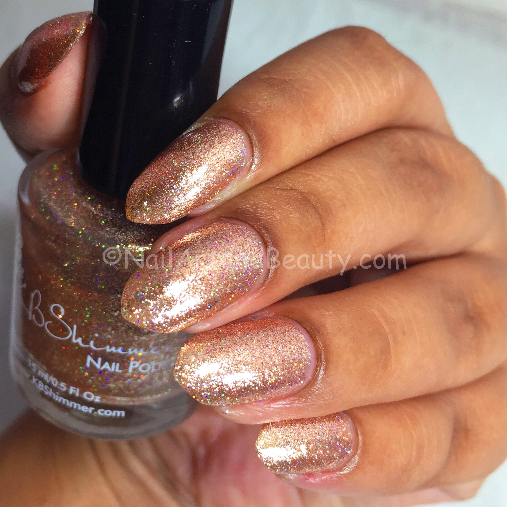 KB Shimmer One Night Stand Swatch